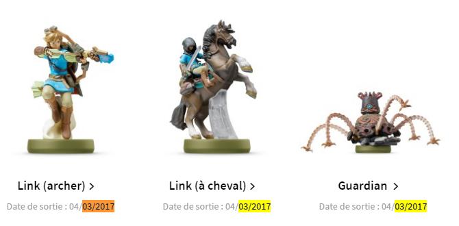 Fuite : la date de sortie de Zelda Breath of the Wild et de la NX !