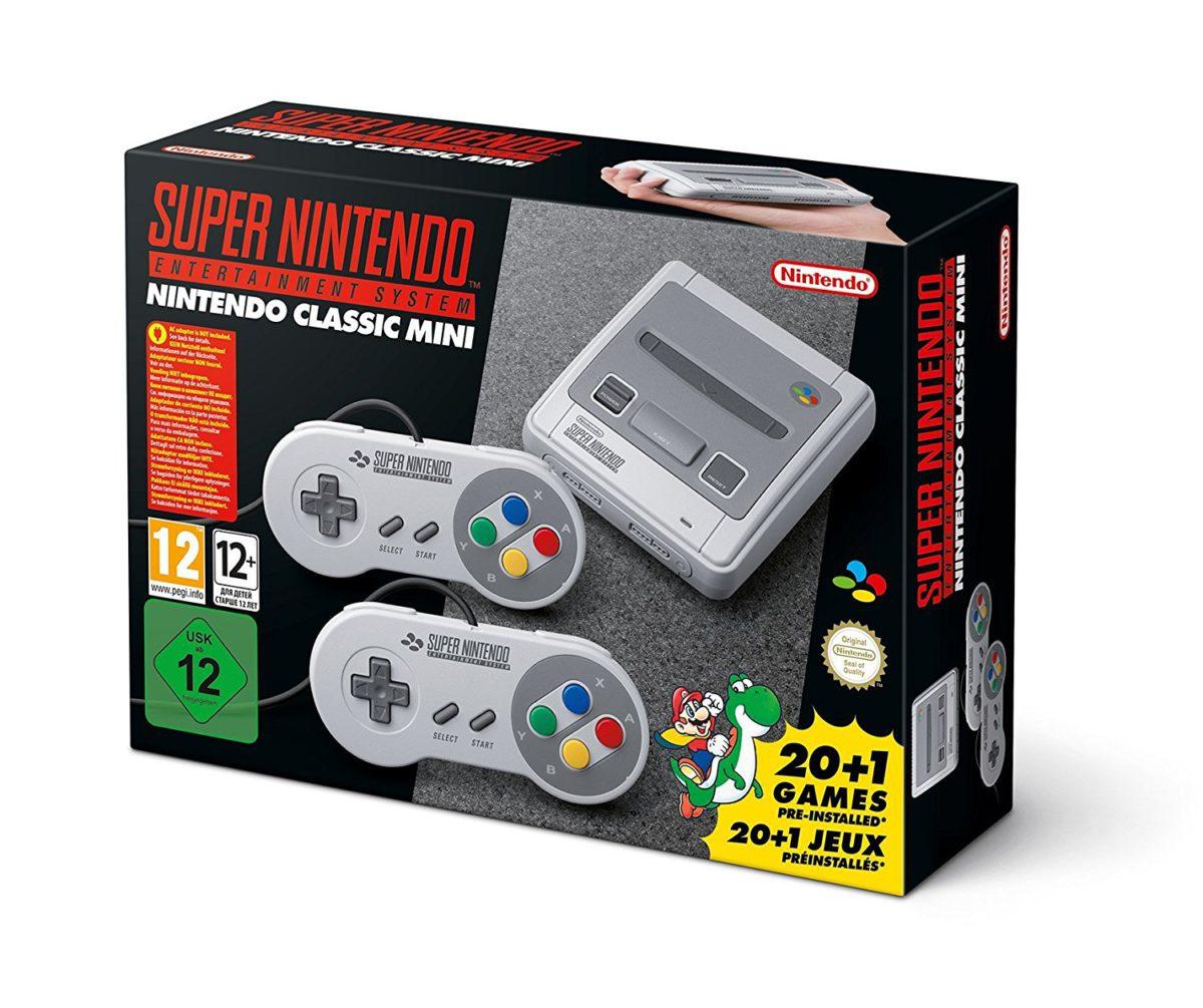 Où précommander la Super Nintendo Mini ?